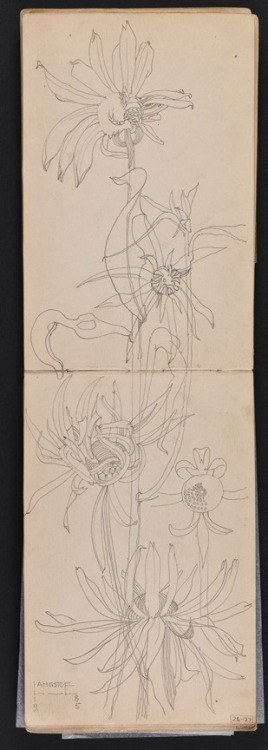 Charles Rennie Mackintosh, Sketchbook of travels in Scotland and a tour to Kent,1895.