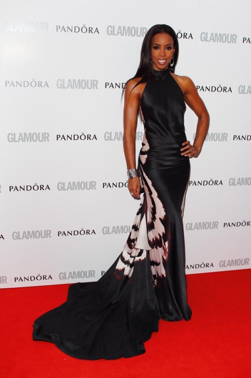 Kelly Rowland looked stunning at the 2012 Glamour Women of the Year Awards held at Berkeley Square Gardens in London
