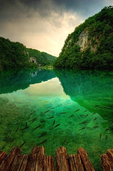 Plitvice Lakes, Croatia (Spotted on Blue Pueblo)