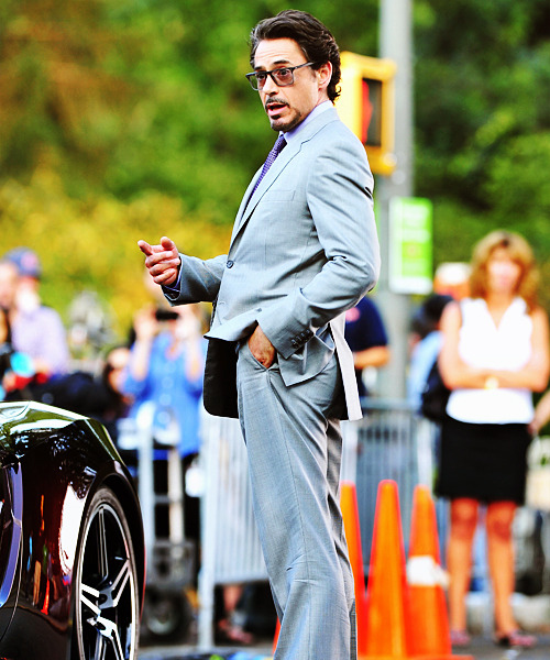 tonystaarks:  fyeahsciencebros:   #rdj #or #tony stark #i dont even know  #neither can live while the other survives