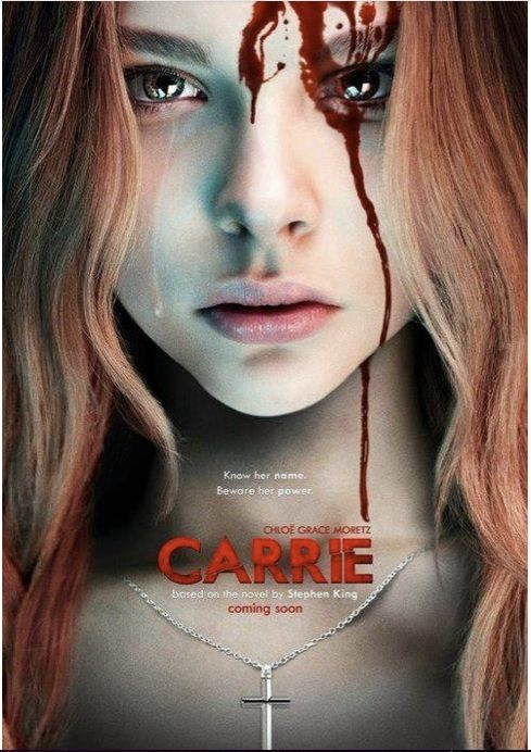 Remaking Carrie is probably acceptable as the original movie is a bit dated. Hairy muffs in the shower, the orangest gore and a young John Travolta give it away. I doubt they'll have the shower scene in the remake however as Moretz isn't even 16 yet.