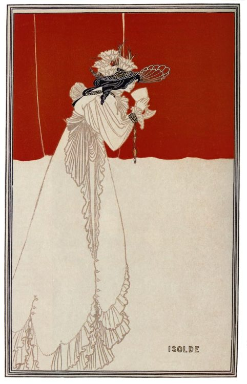 Aubrey Beardsley, Isolde, from The Studio, 1895.