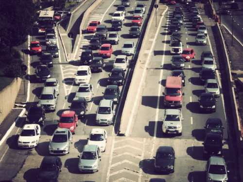 life-of-a-sojourner:  Sao Paulo traffic
