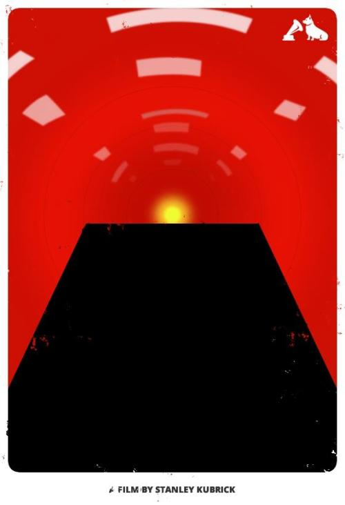 2001: A Space Odyssey - hmv Minimalist Film Poster To celebrate the Top 10 films - voted for by you - in the hmv Jubilee poll, our friends at MMK Media have created these minimalist posters featuring iconic images from each movie. We'll be posting two a day, each day this week. Here's one of our personal favourites from the set, celebrating the #6 Film in our list, Stanley Kubrick's 2001: A Space Odyssey.