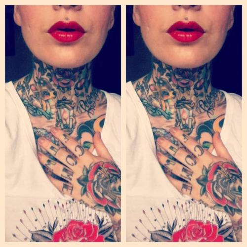 tattoome:  Katy Gold