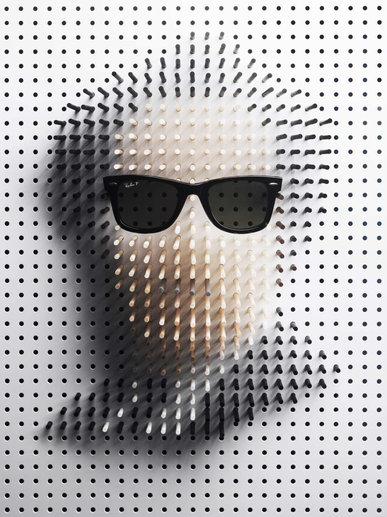 agenerousdesigner:  Pin art / Plaza Magazine by Philip Karlberg