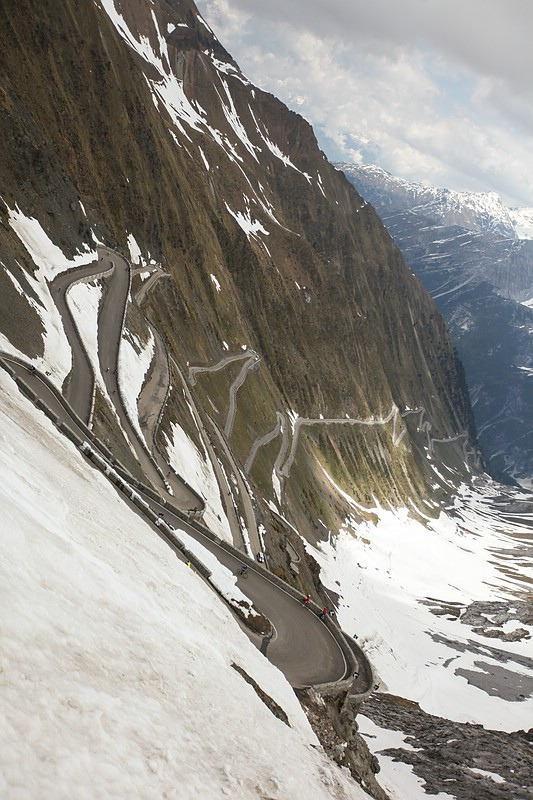 pedalarepedalare:  The Stelvio… it's that steep.