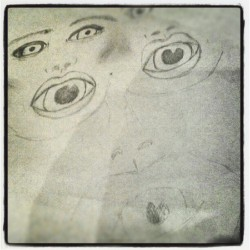 #eyes #mouth #doodle #bored #ireallyjustdontknow (Taken with instagram)