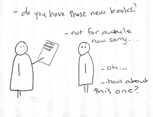 sometimes…in a bookshop near you