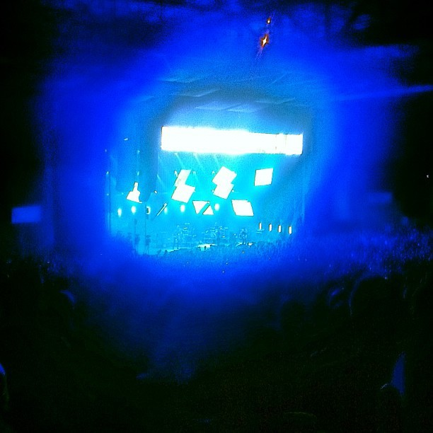 #Radiohead Comcast Center 5/29 (Taken with instagram)