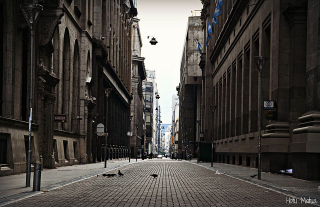 Calle Reconquista by Hotu Matua on Flickr.Via Flickr: Centro de la Ciudad de Buenos Aires