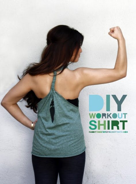 kraftykristin:  (via A Splendid Assemblage Blog: DIY : Workout T-Shirt)  doing this later! :D