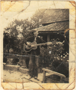 Snapshot of the Day Doc Watson at age 16.