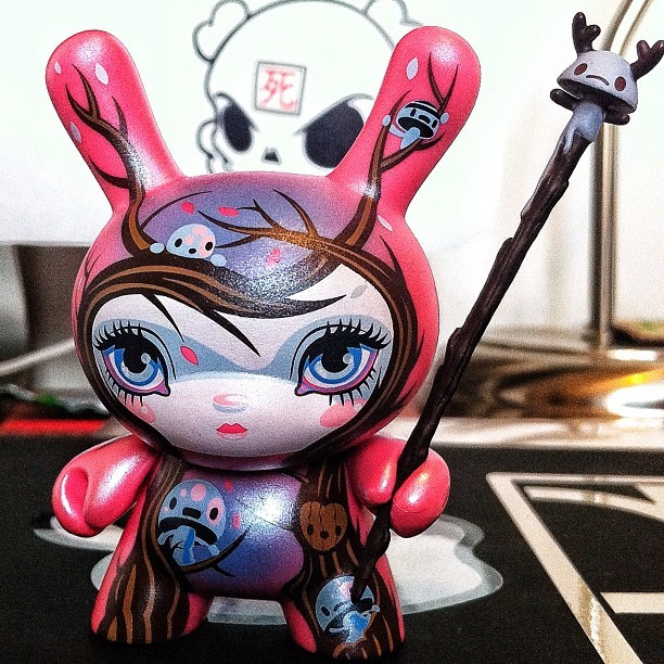 #Dunny of the day (day 105) - Dunny Series 8 (2011) by @64colors (red edition) (Taken with instagram)