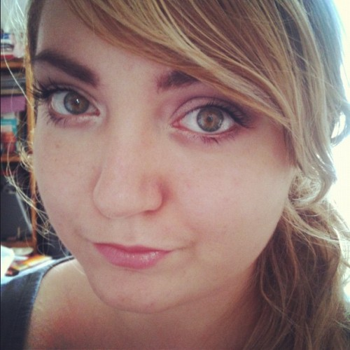 #makeup of the day! #beauty #me #personal #instagram  (Pris avec instagram)