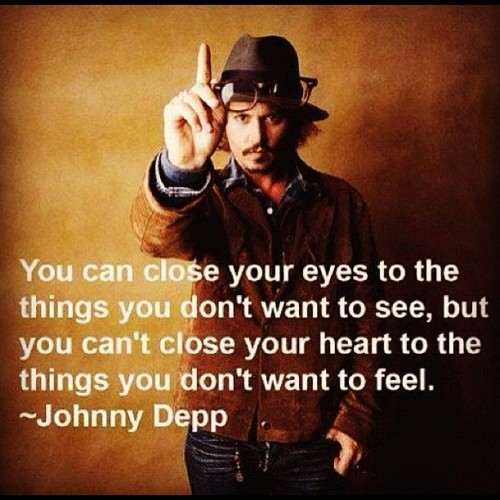 izzybreazy:  So can you ? #quotes #johnnydepp (Taken with instagram)