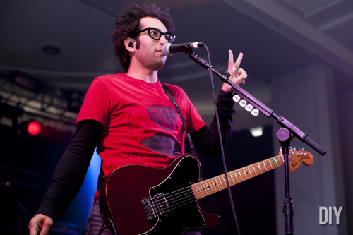 Slam Dunk 2012: Motion City Soundtrack, by Sinéad Grainger (via DIY)