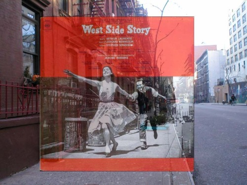 We love a little New York City history… (via West Side Story - Original Broadway Cast Album (1957) - Album Cover Location)