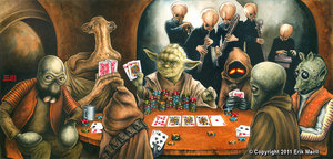fuckyeahlucasfilm:  Poker night.