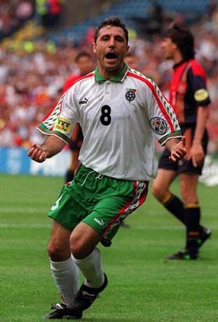 Serie A at the Euros: England 1996: Hristo Stoichkov of Parma and Bulgaria