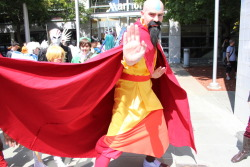My friend as Tenzin at Fanime.