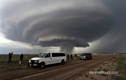 """Mothership Cloud"" Supercell Tornado In Texas"
