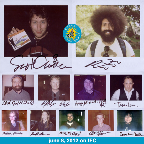 nscaa:  This is tonight!!! portroids:  Comedy Bang! Bang! on IFC!!!! - Portroids of people who appear in episode 1 premiering next week (June 8, 2012) on IFC. WATCH IT!!!!   Tonight tonight tonight tonight tonight tonight tonight tonight tonight.