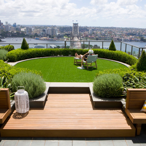 Rooftop Garden by Secret Gardens of Sydney