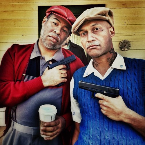 comedycentral:  atencio:  Day 7 - OGs (Taken with Instagram at Disney Ranch)  Love these guys.