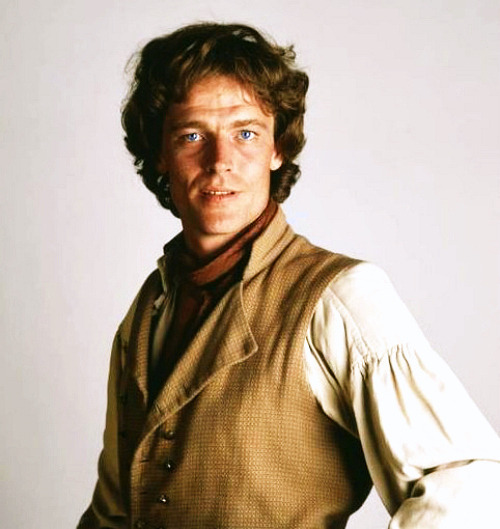 A young and gorgeous Iain Glen (Sir Richard) as Adam Bede…