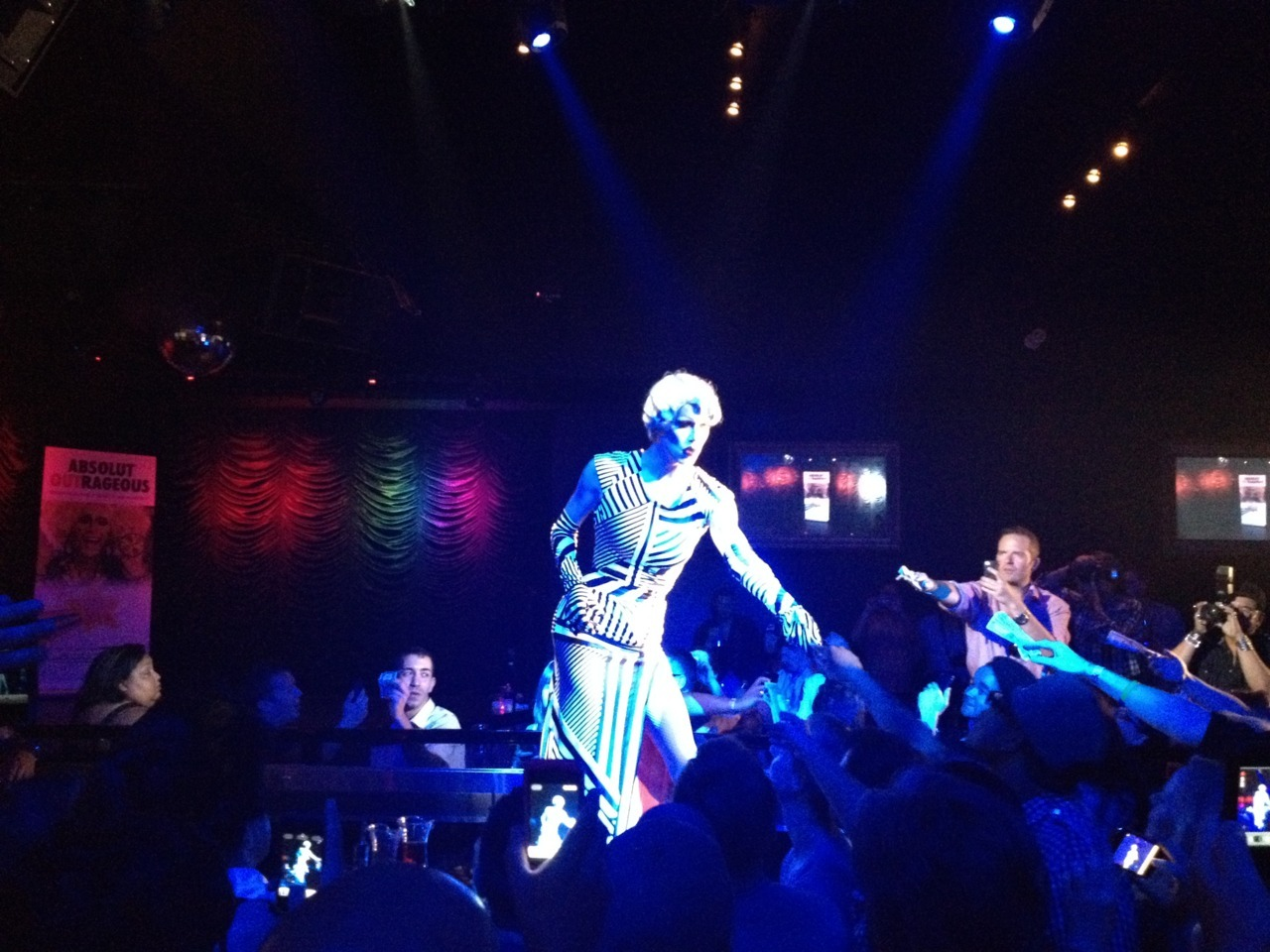 Sharon Needles @ Fbar Houston 5/27/12