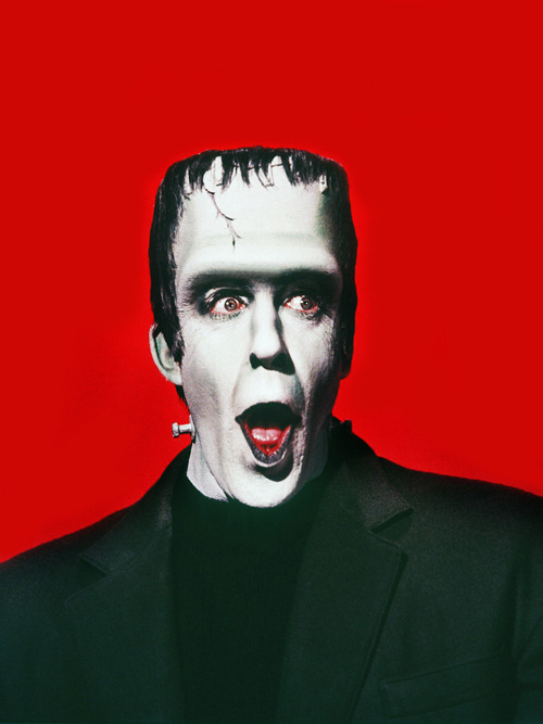 Fred Gwynne as Herman Munster part one here
