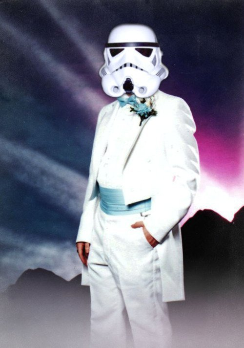 Stormtroopers go to prom, too ….just alone.
