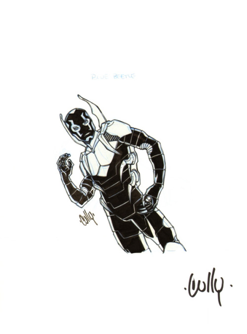 Blue Beetle by Cully Hamner