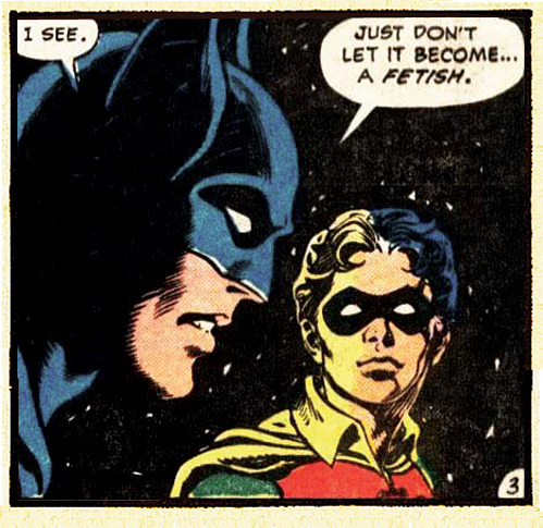 superheroesdoingweirdshit:  I like to think Bats has to say this every couple of weeks