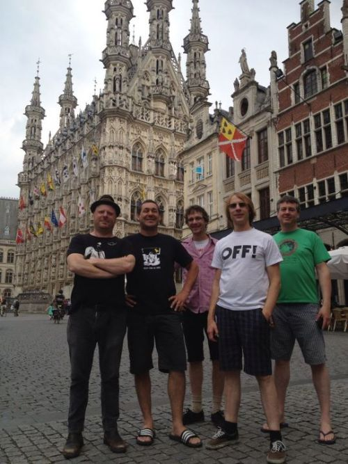 Mudhoney in Leuven, Belgium (via the Mudhoney Facebook page)