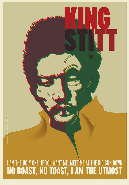 RIP King Stitt by freestylee on Flickr.