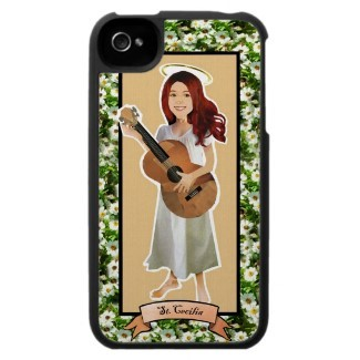 Saint Cecilia iphone case is only $19.97 today when you enter the code DADSCASENTEE at checkout! http://www.zazzle.com/st_cecilia_iphone_case-176245705899485111