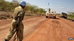 Abyei crisis: UN confirms Sudan troop pullout Sudan has pulled its troops out of the disputed border region of Abyei, according to the UN. The UN peacekeeping mission in Abyei confirmed the withdrawal took place late on Tuesday evening. The pullout comes as negotiators from Sudan and South Sudan meet in Ethiopia to begin talks over several disputes. Abyei is claimed by both Sudan and the South, which became independent in 2011 after a long civil war. Sudan's forces seized Abyei last May. But a source has told the BBC that the number of police in the area has been increased to about 200, raising fears that some Sudanese soldiers may have simply changed into police uniforms in order to stay. Either way, the BBC's James Copnall in Khartoum says the presence of Sudanese police is likely to worry the tens of thousands of displaced people who are now considering moving back to Abyei. Its status was left undecided in the 2005 peace deal between the two sides, and a referendum on the issue has been postponed indefinitely. Sudanese officials had said the pullout was designed to aid the progress of the peace talks. Pictured: The Abyei region has been a flashpoint area in the months since South Sudan's independence