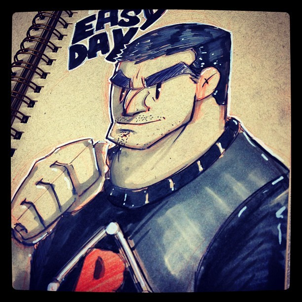 Sketch: Easyday (Taken with instagram)