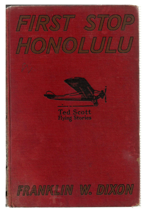 First Stop Honolulu. Vintage cover via VintageEdition.