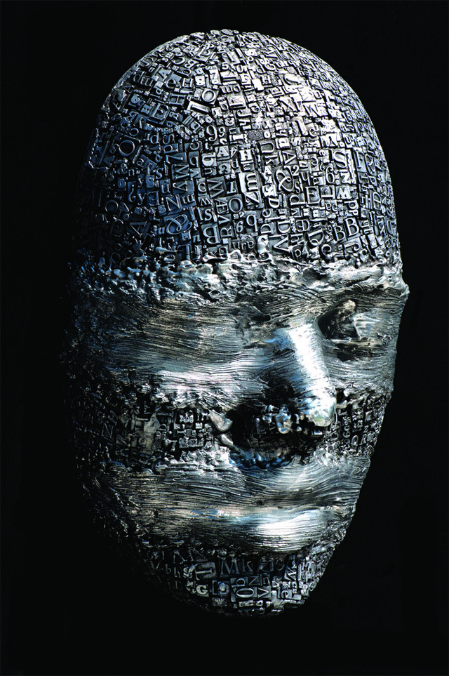 makelovetothemoon:  Redacted 1/1. Aluminum. 27 x 18 x 9 in., Hong Seong Jang