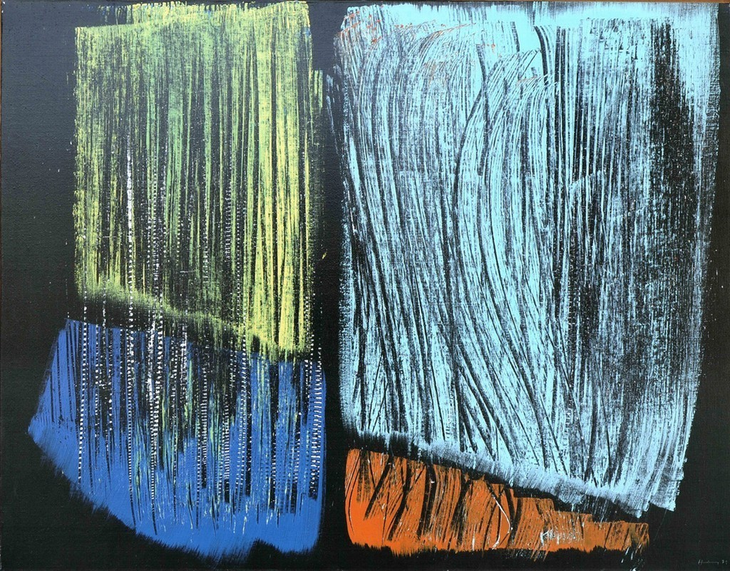 Hans Hartung, UntitledAcrylic on canvas1971