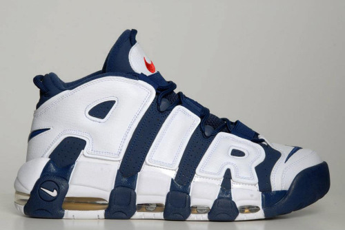 Nike Air More Uptempo - USAB Pack a look at another sneaker coming as part of the USAB pack. the Air More Uptempo in a Navy upper, White AIR and Red accents.  coming this July along with the Air Force 180.  stay tuned for release info  Related articles Nike Zoom Flight Uptempo - White - Metallic Gold - Black (sneakernews.com)