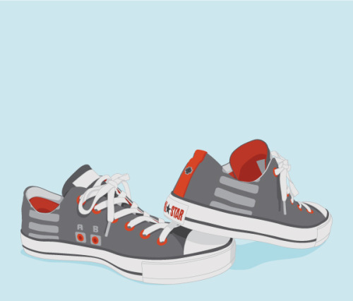 it8bit:  NES vs. Converse Created by Andrew Lockhart