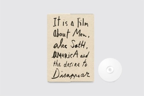 JSBJ & MAS films presents: SOMEWHERE TO DISAPPEAR A film by Laure Flammarion & Arnaud Uyttenhove, with Alec Soth More informations about the film Somewhere To DisappearSoon available via JSBJ