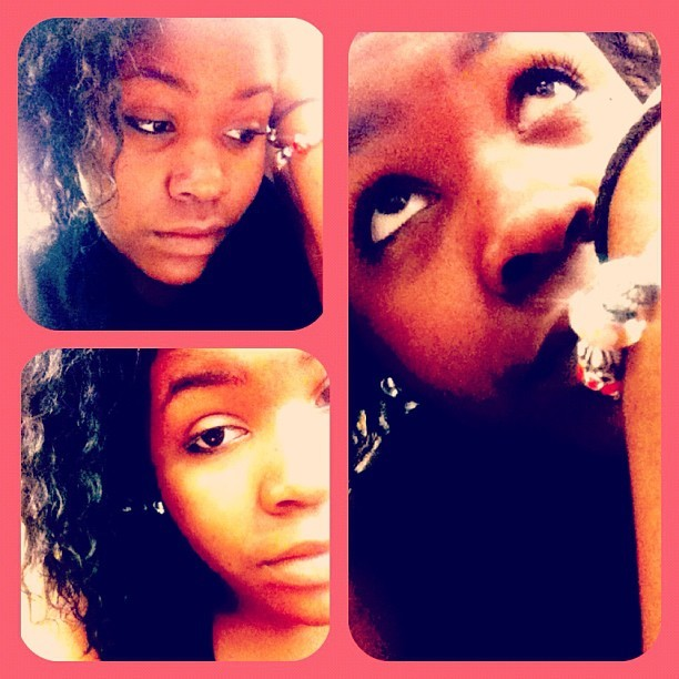 Bored in class 😏 (Taken with instagram)