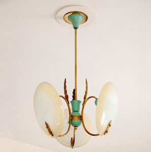 jewelry for your ceiling, 1930's roman chandelier at LUM fardo