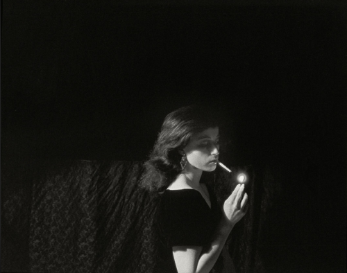 sfmoma:  chewyourlipstick:  Cindy Sherman, Untitled Film Still #32, 1979  See this photograph on MoMA's site here.