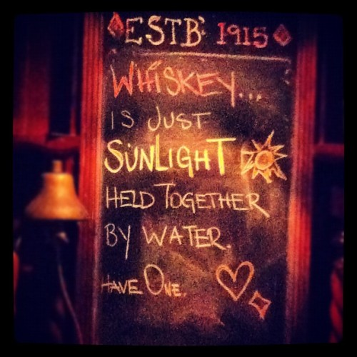 theorfanage:  Soo true #whiskey #sunlight #drinking (Taken with instagram)